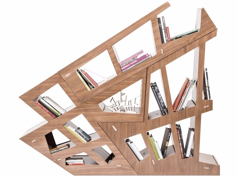 Open double-sided sectional MDF bookcase CHEFT | Sectional bookcase by Studio Pousti