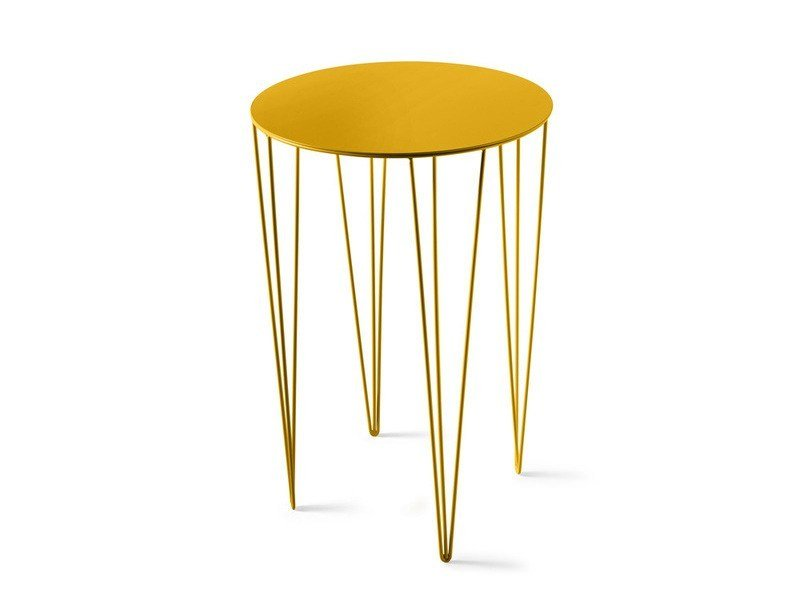 Round iron contract table CHELE ROUNDED | Table by Atipico