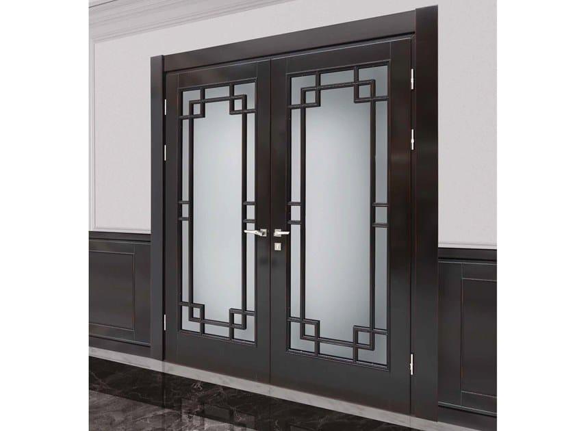 Porta a battente in legno in stile classico CHELSEA by Arnaboldi Interiors