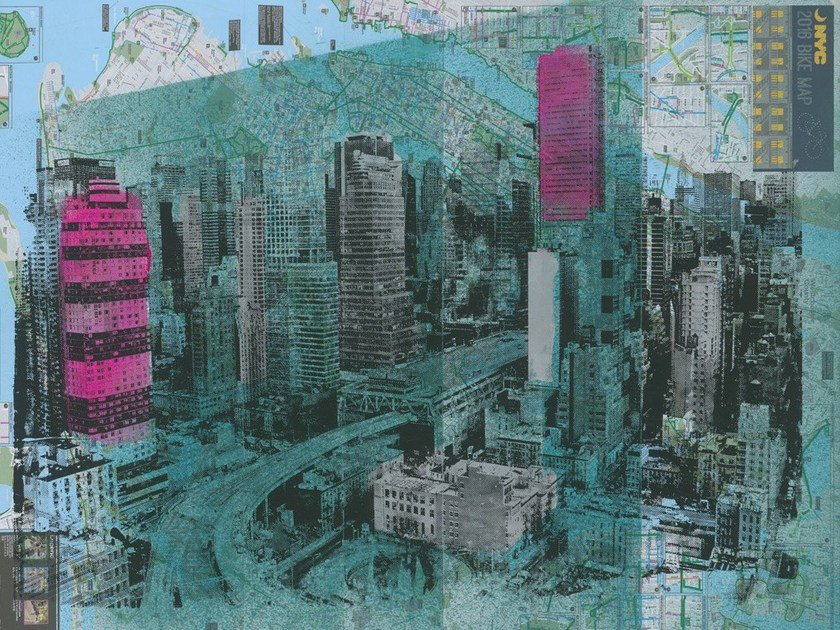 Landscape wallpaper CHELSEA by Tecnografica Italian Wallcoverings