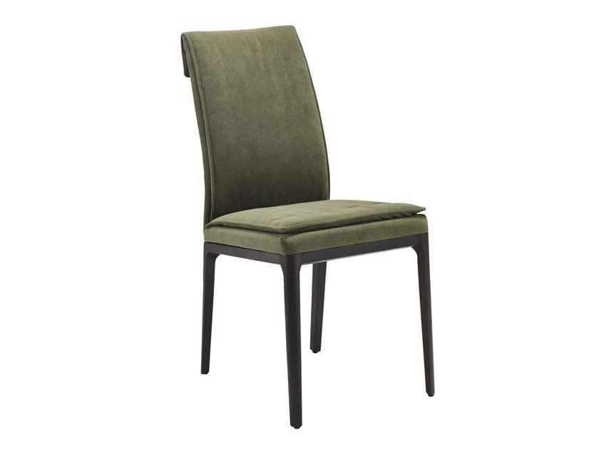 Upholstered fabric chair CHERIE by RIFLESSI
