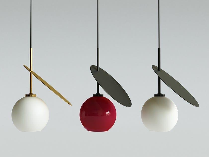 In Diretta Lampada Kosicka Iwona Vetro Design Luce Sospensione 1 A Cherry c4Aq53jLR