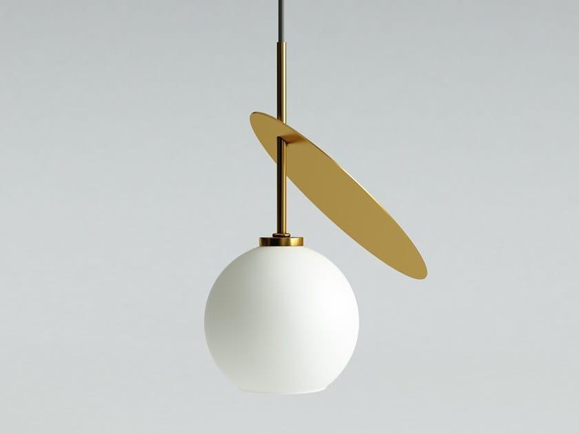 Direct light glass pendant lamp CHERRY 1 by Iwona Kosicka Design