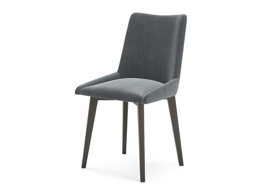 Upholstered fabric chair CHESTER by PRADDY