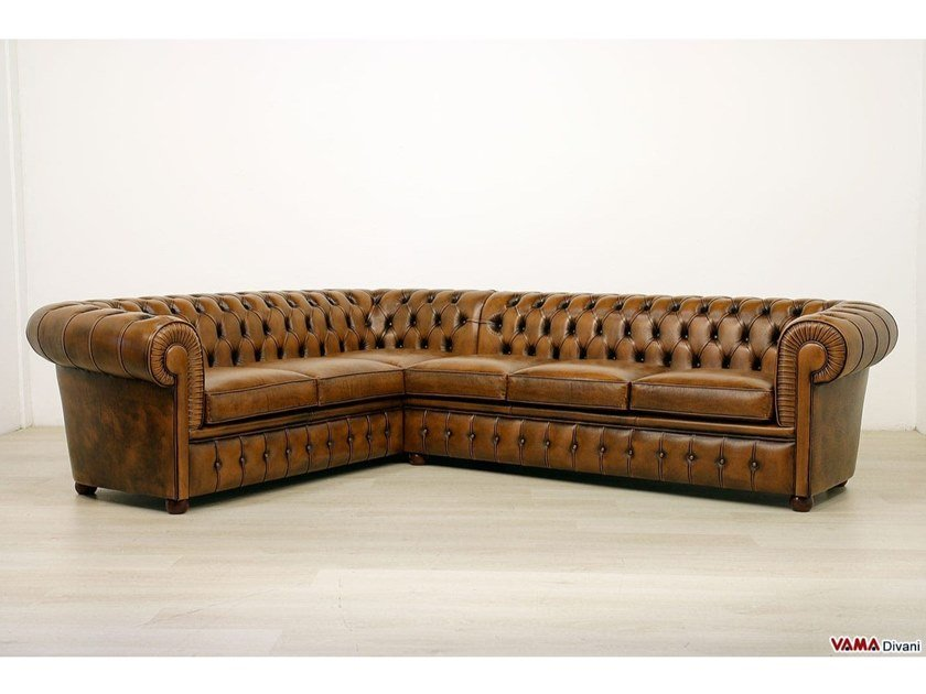 Corner Sofa Chesterfield Collection By Vama