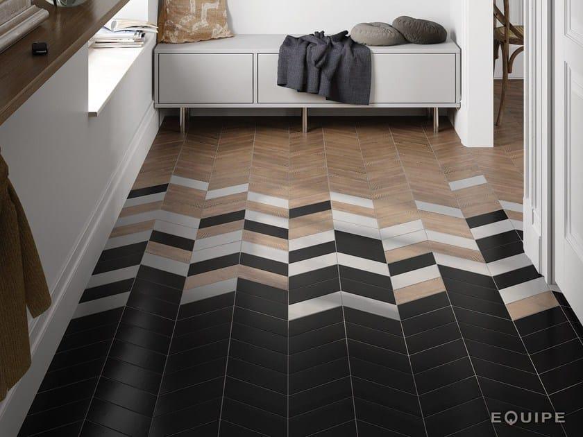Porcelain stoneware wall/floor tiles CHEVRON by EQUIPE CERAMICAS