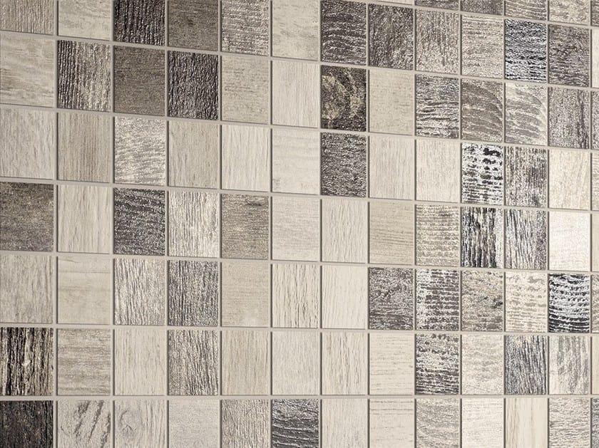 Porcelain stoneware mosaic CHEVRONCHIC   Mosaic by Ceramica Fioranese