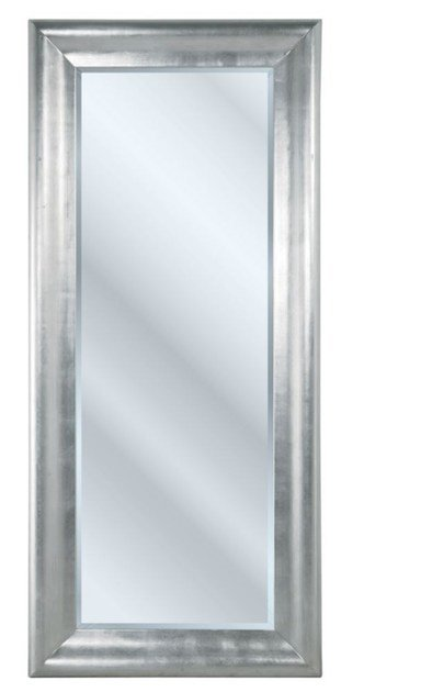 Rectangular wall-mounted framed mirror CHIC SILVER by KARE-DESIGN