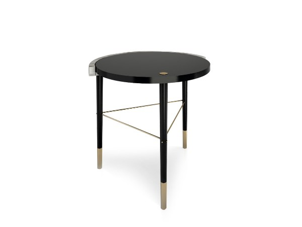 Round side table CHICAGO II | Side table by Duquesa & Malvada
