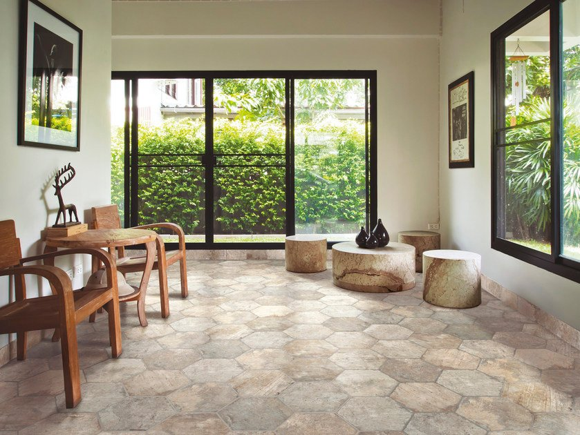 Glazed stoneware flooring CHICAGO | Flooring by CIR