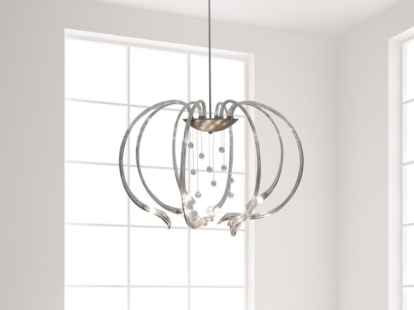 Pendant lamp with Swarovski® Crystals CHILL OUT H8 by ILFARI