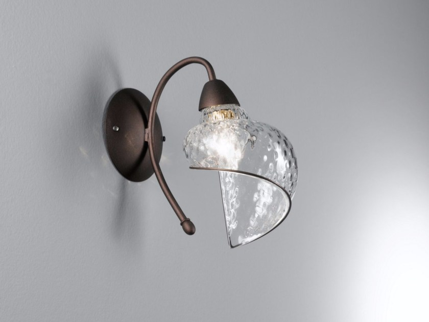 Murano glass wall lamp CHIOCCIOLA MB 241 by Siru