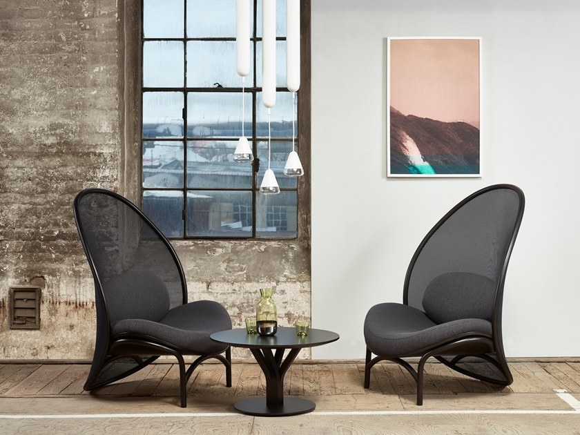 mesh easy chair chips by ton design lucie koldova. Black Bedroom Furniture Sets. Home Design Ideas