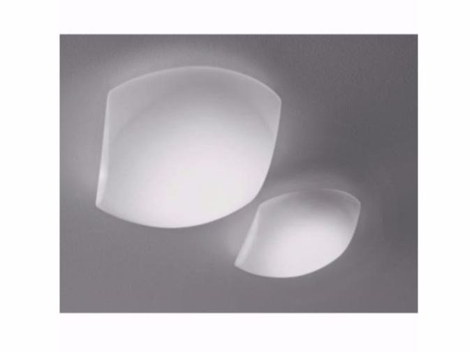 Glass ceiling lamp CHIUSA | Ceiling lamp by Ailati Lights