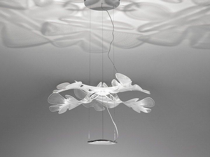 led indirect light pendant lamp chlorophilia by artemide design ross
