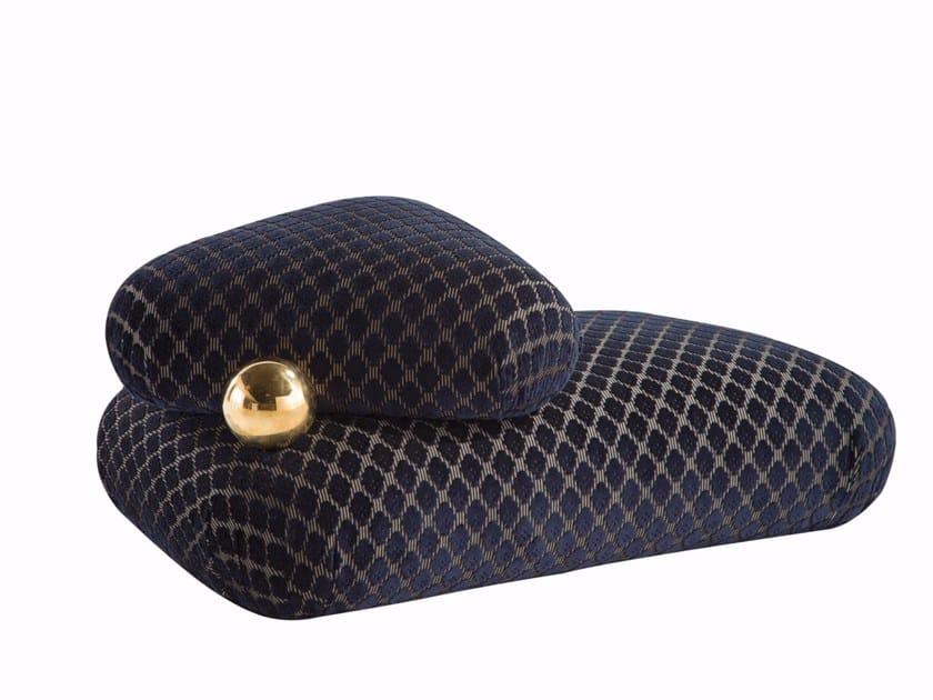 Fabric pouf CHRISTIAN LACROIX MAISON | Pouf by ROCHE BOBOIS
