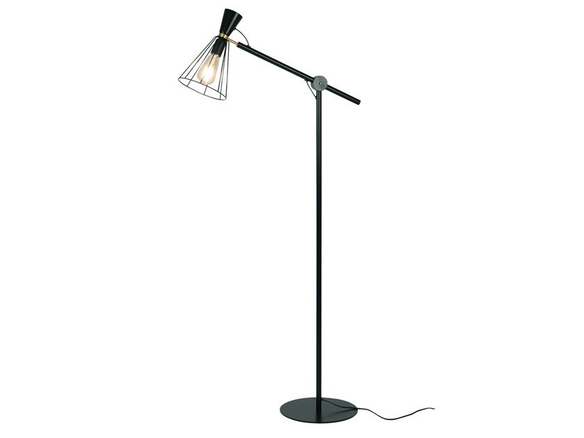 Metal floor lamp CHRISTY | Floor lamp by LUZ EVA