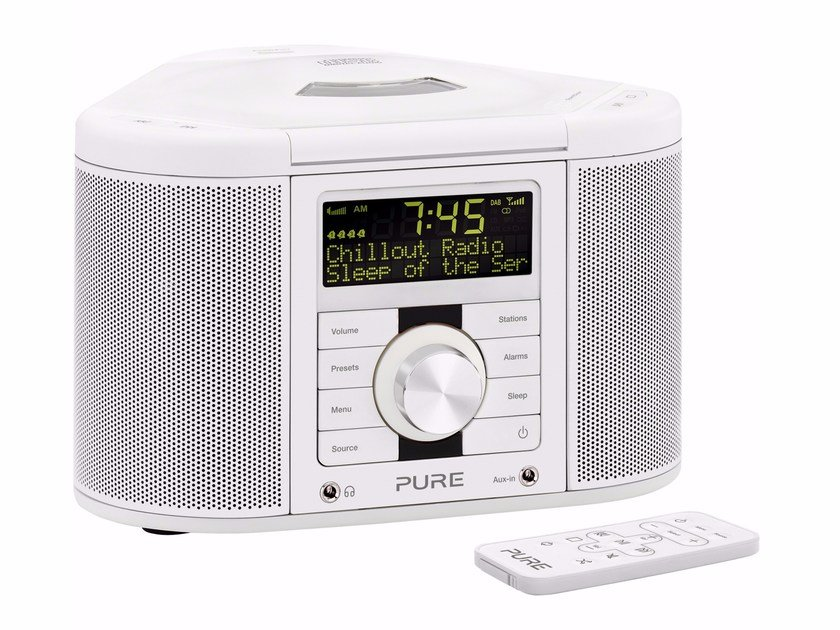 Radio with CD player with remote control CHRONOS CD II by PURE