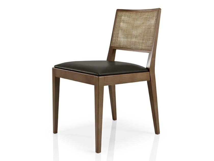 Leather restaurant chair CIBELLE   Restaurant chair by JMS