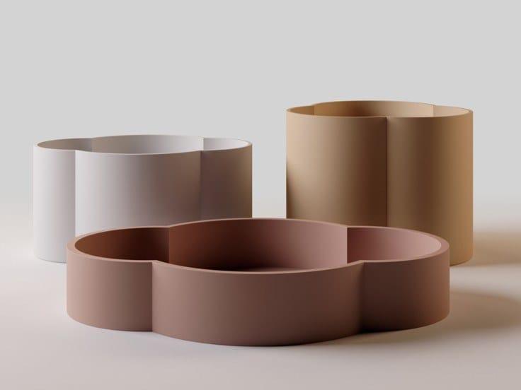 Ceramic serving bowls set CICLADI by Danese Milano