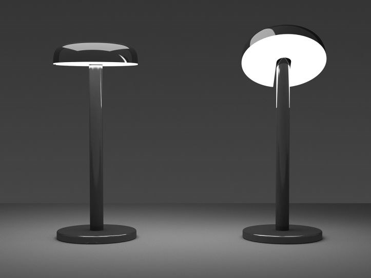 LED adjustable table lamp with dimmer CICLO | Table lamp by Martinelli Luce