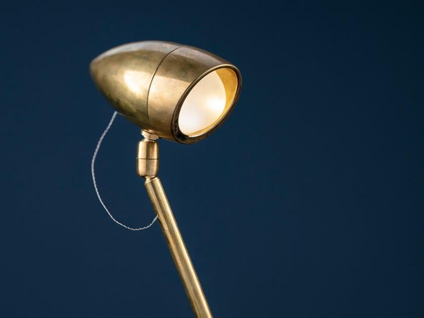 Lampada da terra a LED in ottone CICLOITALIA F by Catellani & Smith