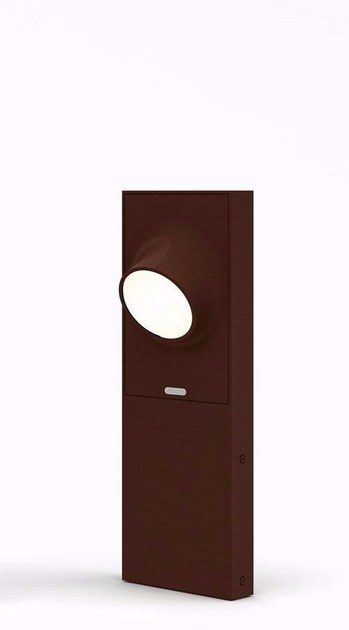 T081010, Ciclope Floor LED 50 Monolaterale - Rust