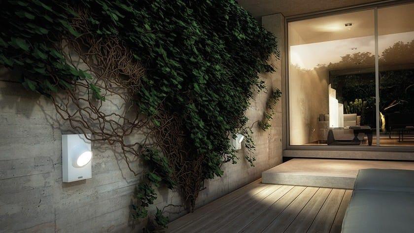 CICLOPE | Lampada da parete per esterno a LED