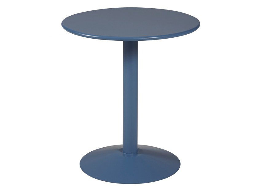 Round steel table CICOGNE by Tolix