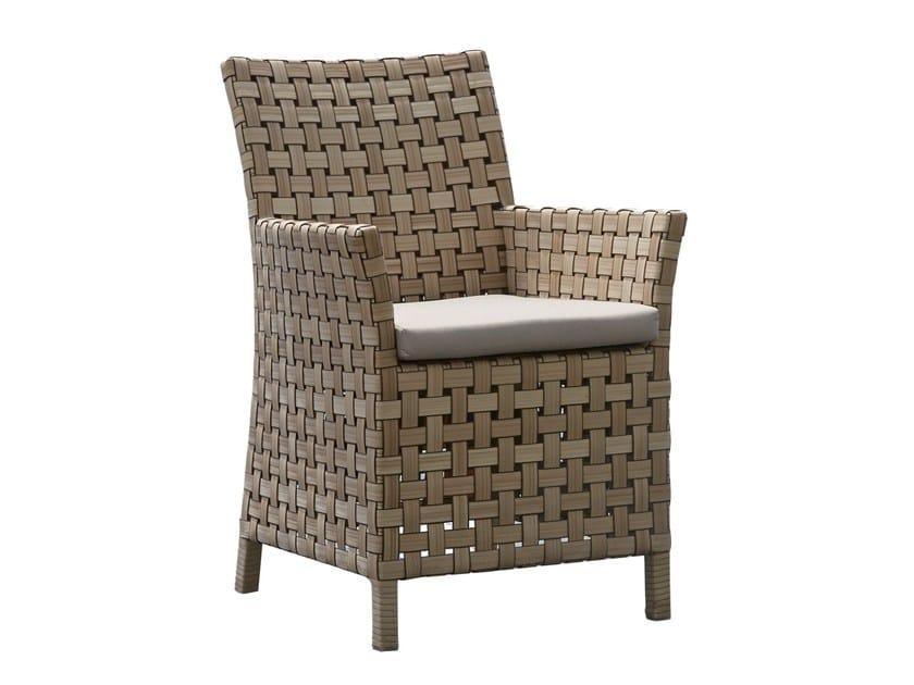 Sedia da giardino con braccioli CIELO 23110 by SKYLINE design