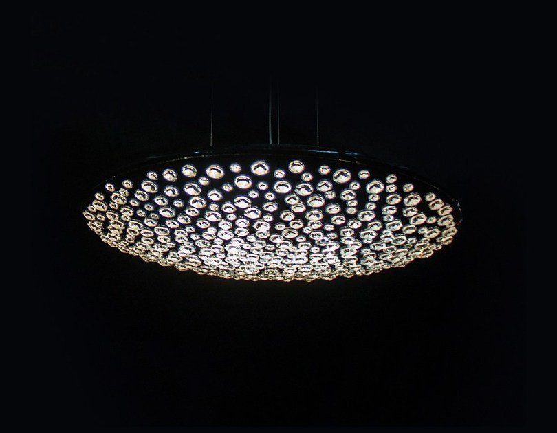 Halogen crystal pendant lamp CIELO | Crystal pendant lamp by Manooi