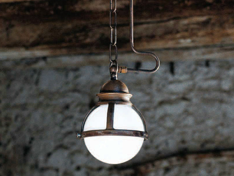 Blown glass pendant lamp CIMOSA | Pendant lamp by Aldo Bernardi