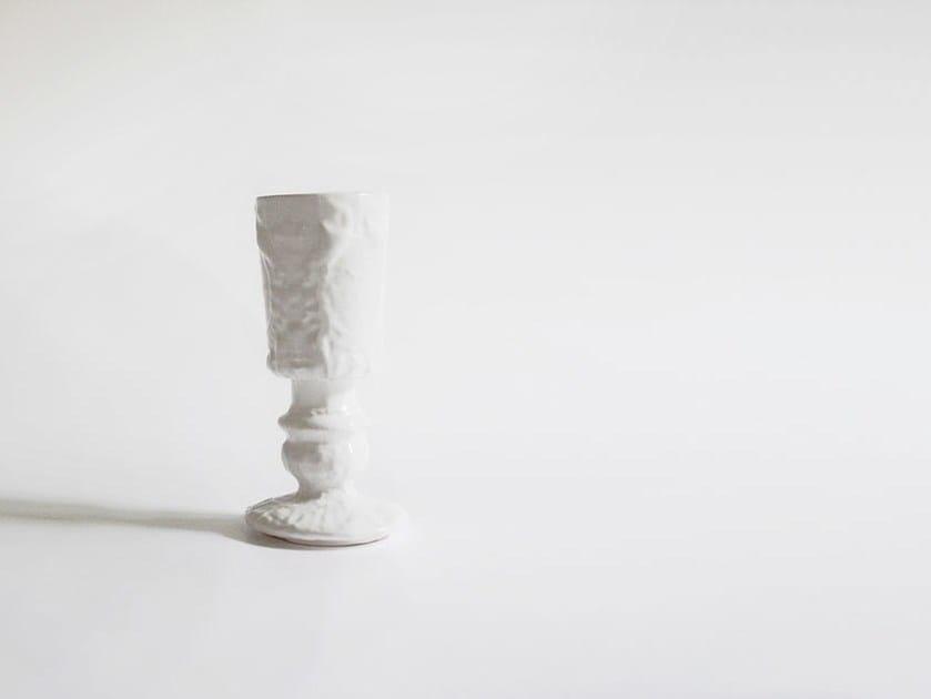 Set of 2 Ceramic glasses CIN CIN by N.O.W. Edizioni