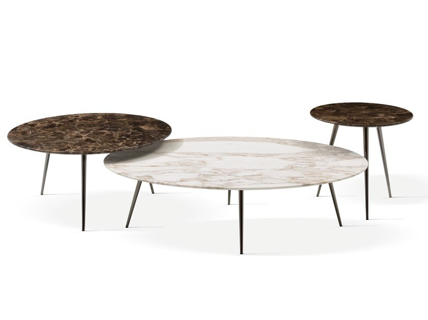 Marble coffee table CINQUANTA | Marble coffee table by Bodema
