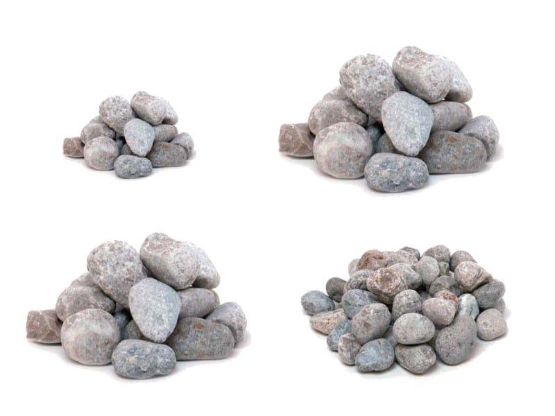 Decorative pebbles CIOTTOLI DI MARMO OCCHIALINO by Bernardelli Group