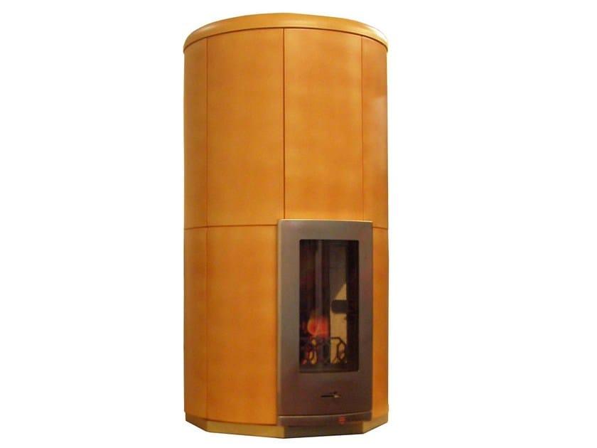 Wood-burning ceramic stove CIR2 | Stove by KarniaFire