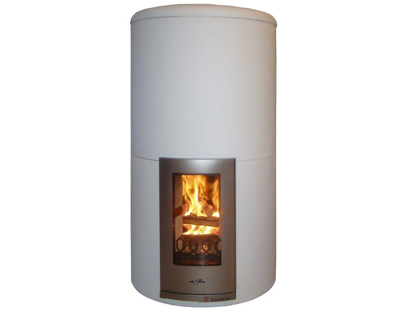 Wood-burning stove with Thermal Accumulation CIR2 | Wood-burning stove by KarniaFire