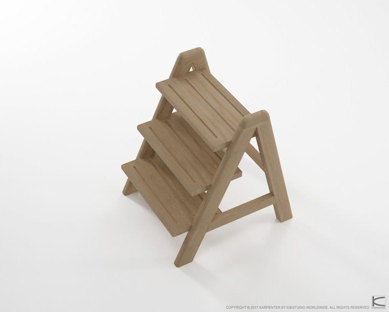 Trittleiter Holz circa17 trittleiter by karpenter design hugues revuelta
