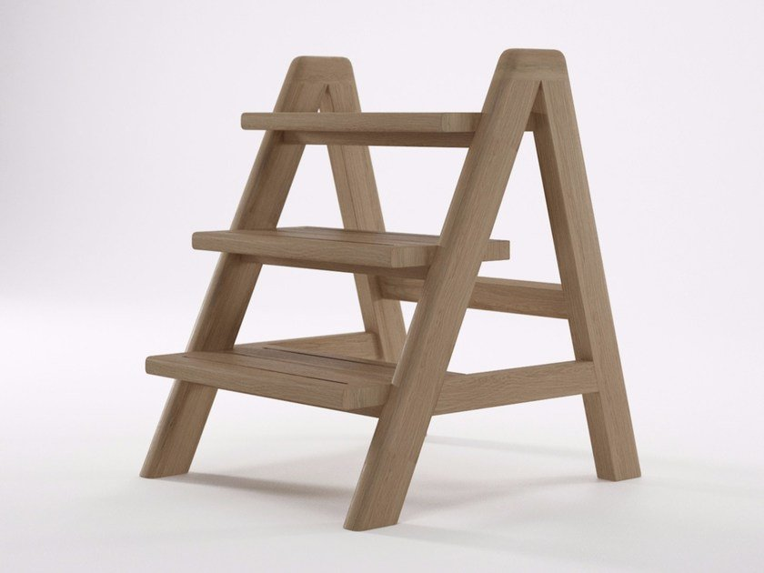 Wooden step stools CIRCA17 | Step stools by KARPENTER