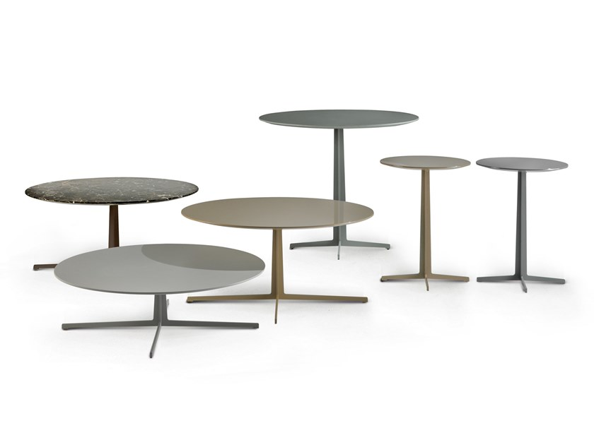 Round side table CIRCLE GAME by Busnelli