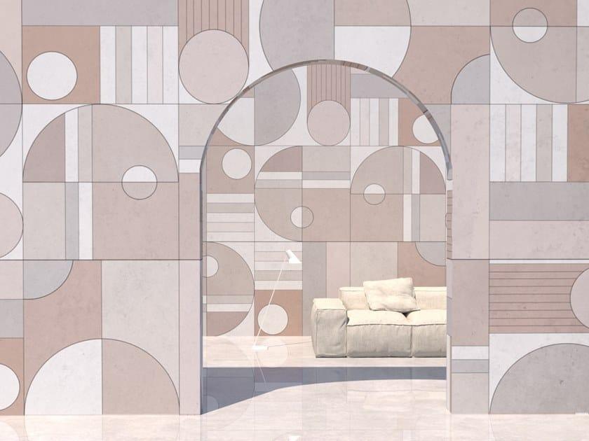 Wall tiles / wallpaper CIRCLE by Officinarkitettura®