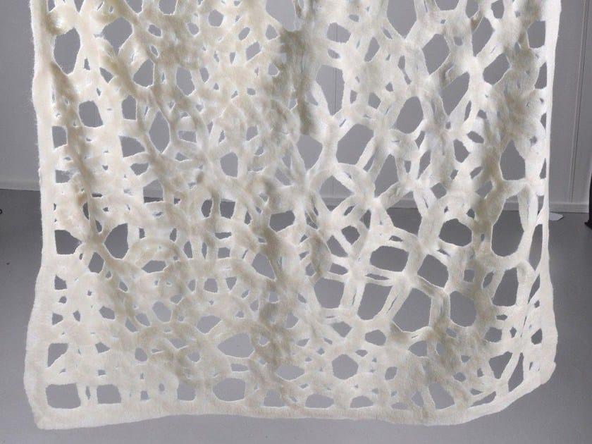 Handmade wool felt lap robe CIRCLE | Wool felt lap robe by Ronel Jordaan™