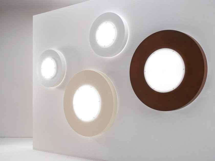 Methacrylate wall light CIRCLE | Wall light by NOIDESIGN