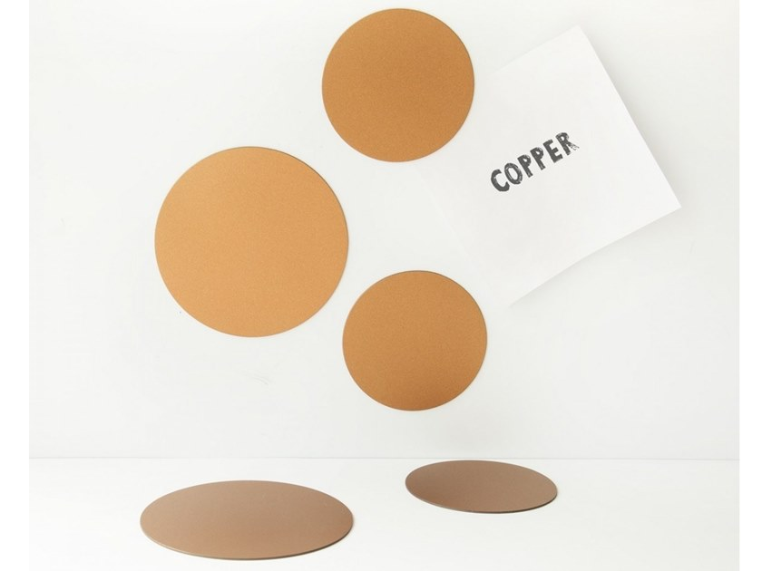 Magnet CIRCLES COPPER by Groovy Magnets