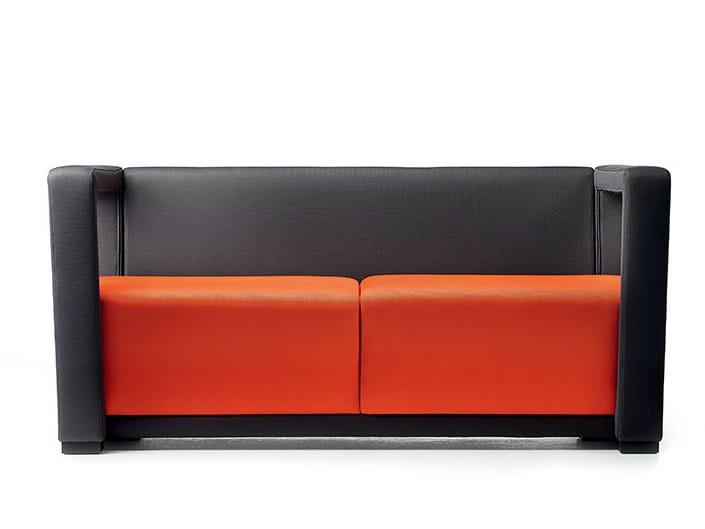 2 seater fabric sofa CIRCUIT | Fabric sofa by Diemme