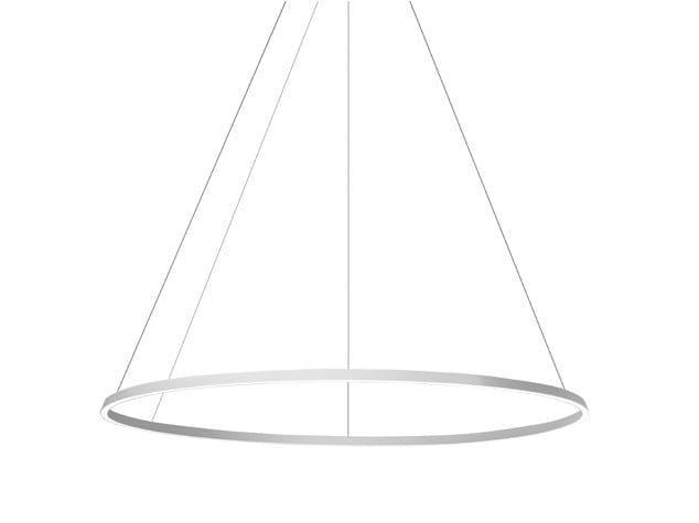 Led Circular Estruso Sospensione Grok In Indiretta Alluminio Luce Lampada A bv6Yf7gy