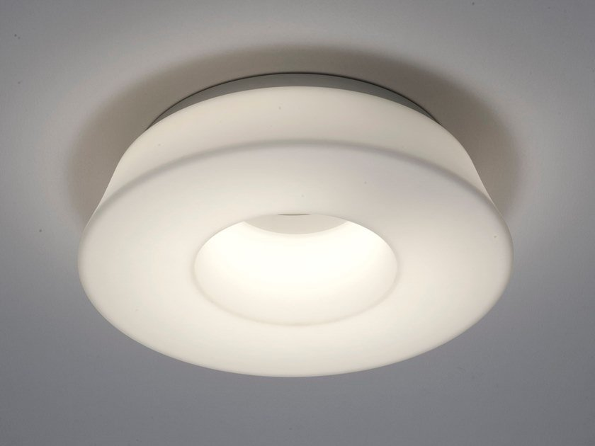 LED polyethylene ceiling lamp CIRCULAR POL | Ceiling lamp by Martinelli Luce