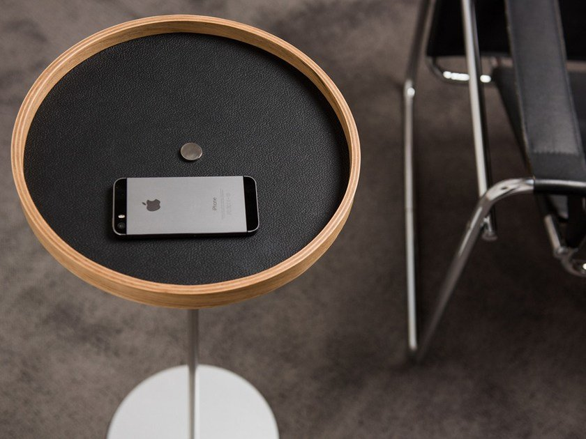 Coffee table / pin tray CIRCULUM RING STANDING by PIKKA