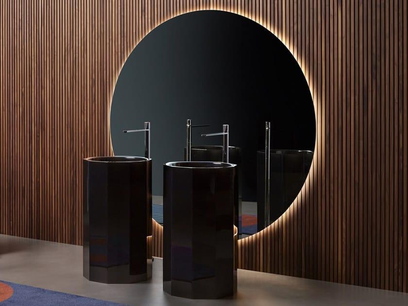 Specchio da parete per bagno CIRCUS by Antonio Lupi Design