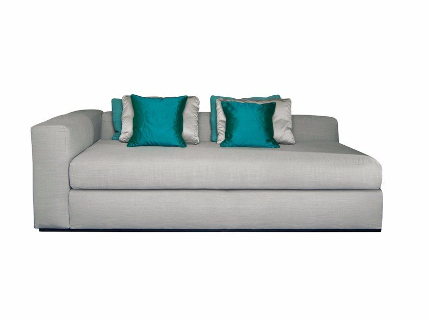 Upholstered fabric day bed CIRO | Day bed by SOFTHOUSE